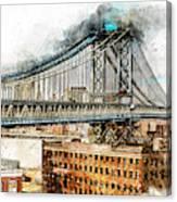 New York Panorama - 29 Canvas Print