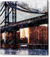 New York Panorama - 30 Canvas Print