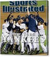 New York Yankees, 2009 World Series Sports Illustrated Cover Canvas Print
