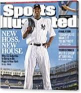 New York Yankees Cc Sabathia Sports Illustrated Cover Canvas Print