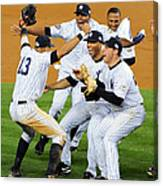 New York Yankees Celebrate 27th World Canvas Print