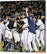 New York Yankees Celebrate After Canvas Print