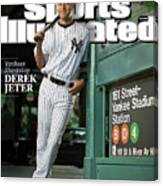 New York Yankees Derek Jeter, 2009 Sportsman Of The Year Sports Illustrated Cover Canvas Print