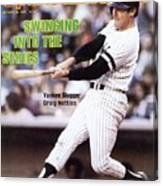 New York Yankees Graig Nettles, 1981 Al Championship Series Sports Illustrated Cover Canvas Print