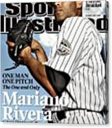New York Yankees Mariano Rivera Sports Illustrated Cover Canvas Print
