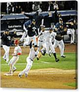 New York Yankees Mark Teixeira Makes Canvas Print