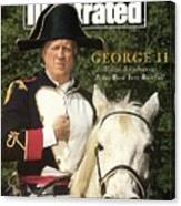 New York Yankees Owner George Steinbrenner Sports Illustrated Cover Canvas Print