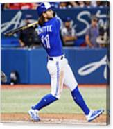 New York Yankees V Toronto Blue Jays Canvas Print