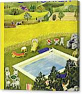 New Yorker August 10th 1946 Canvas Print