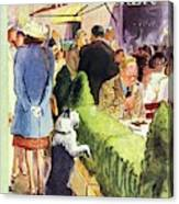New Yorker August 17th 1946 Canvas Print