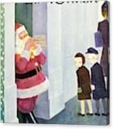 New Yorker December 14th 1946 Canvas Print
