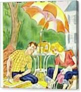 New Yorker July 12th 1947 Canvas Print