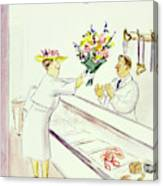 New Yorker June 22nd 1946 Canvas Print