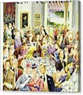 New Yorker June 28th 1947 Canvas Print
