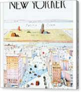 New Yorker March 29, 1976 Canvas Print