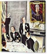 New Yorker November 2nd 1935 Canvas Print