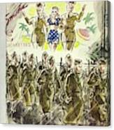 New Yorker November 7th 1942 Canvas Print