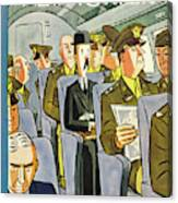 New Yorker September 18th 1943 Canvas Print