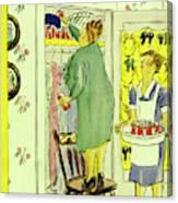 New Yorker September 25th 1943 Canvas Print