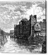 Newark Castle And The River Trent Canvas Print