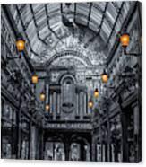 Newcastle Central Arcade Canvas Print