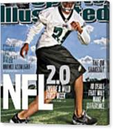 Nfl 2.0 Inside A Wild First Week Sports Illustrated Cover Canvas Print