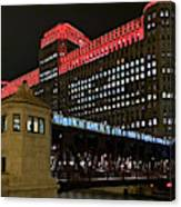 Night City Colors Canvas Print
