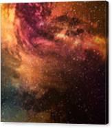 Night Sky With Stars And Nebula Canvas Print