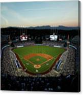 Nlcs - Chicago Cubs V Los Angeles Canvas Print