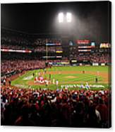 Nlcs - San Francisco Giants V St Louis Canvas Print