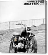 No 502 Mcqueen Desert Sled Canvas Print