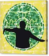 No1049 My Central Intelligence Minimal Movie Poster Canvas Print