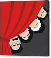 No1053 My A Night At The Opera Minimal Movie Poster Canvas Print
