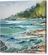 North Beach, Leland, Mi Canvas Print