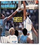 North Carolina James Worthy, 1982 Ncaa National Championship Sports Illustrated Cover Canvas Print