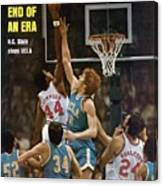 North Carolina State David Thompson, 1974 Ncaa Semifinals Sports Illustrated Cover Canvas Print