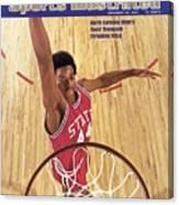 North Carolina State David Thompson Sports Illustrated Cover Canvas Print