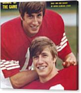 North Carolina State University Don And Dave Buckey Sports Illustrated Cover Canvas Print