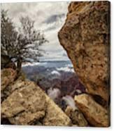 North Rim Fog 1 - Grand Canyon National Park - Arizona Canvas Print