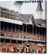 Northern Dancer, 1964 Kentucky Derby Sports Illustrated Cover Canvas Print