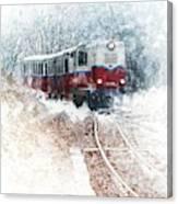 Northern European Train Canvas Print