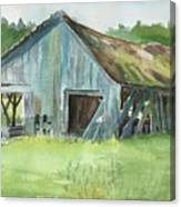 Northern State Farm, Skagit Valley Canvas Print