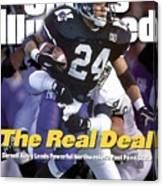 Northwestern University Darnell Autry Sports Illustrated Cover Canvas Print