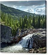 Norway Waterfall Canvas Print