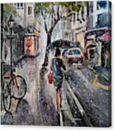 Nothing Better Than The Bad Weather Canvas Print