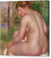 Nude, Back View, 1911 Canvas Print
