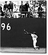 N.y. Mets Vs. Baltimore Orioles. 1969 Canvas Print