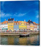 Nyhavn District Is One Of The Most Canvas Print