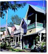 Oak Bluffs Martha's Vineyard Canvas Print