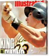 Oakland Athletics Jose Canseco Sports Illustrated Cover Canvas Print